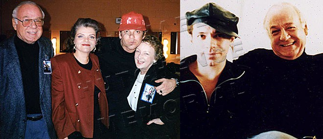 1: Kell, Susie, Michael and Kell's sister Iris Croy 1991 – 2: Michael and Daddio in Hong Kong 1987