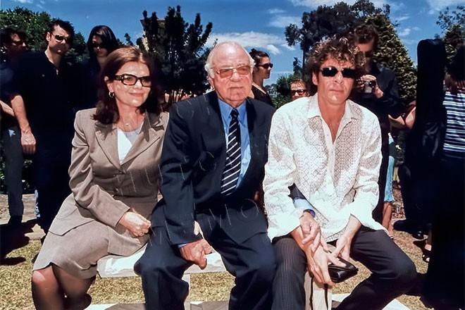 Susie, Kell and Rhett Hutchence